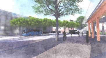 Impressie stationsomgeving Roermond